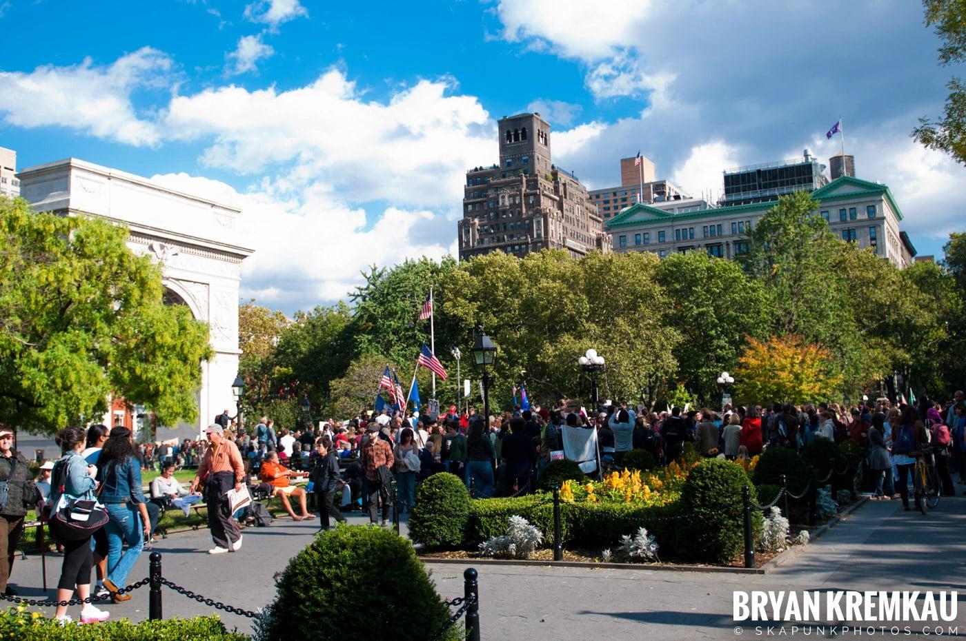 Occupy Wall Street @ Zuccotti Park and Washington Square Park, NYC - 10.15.11 (24)