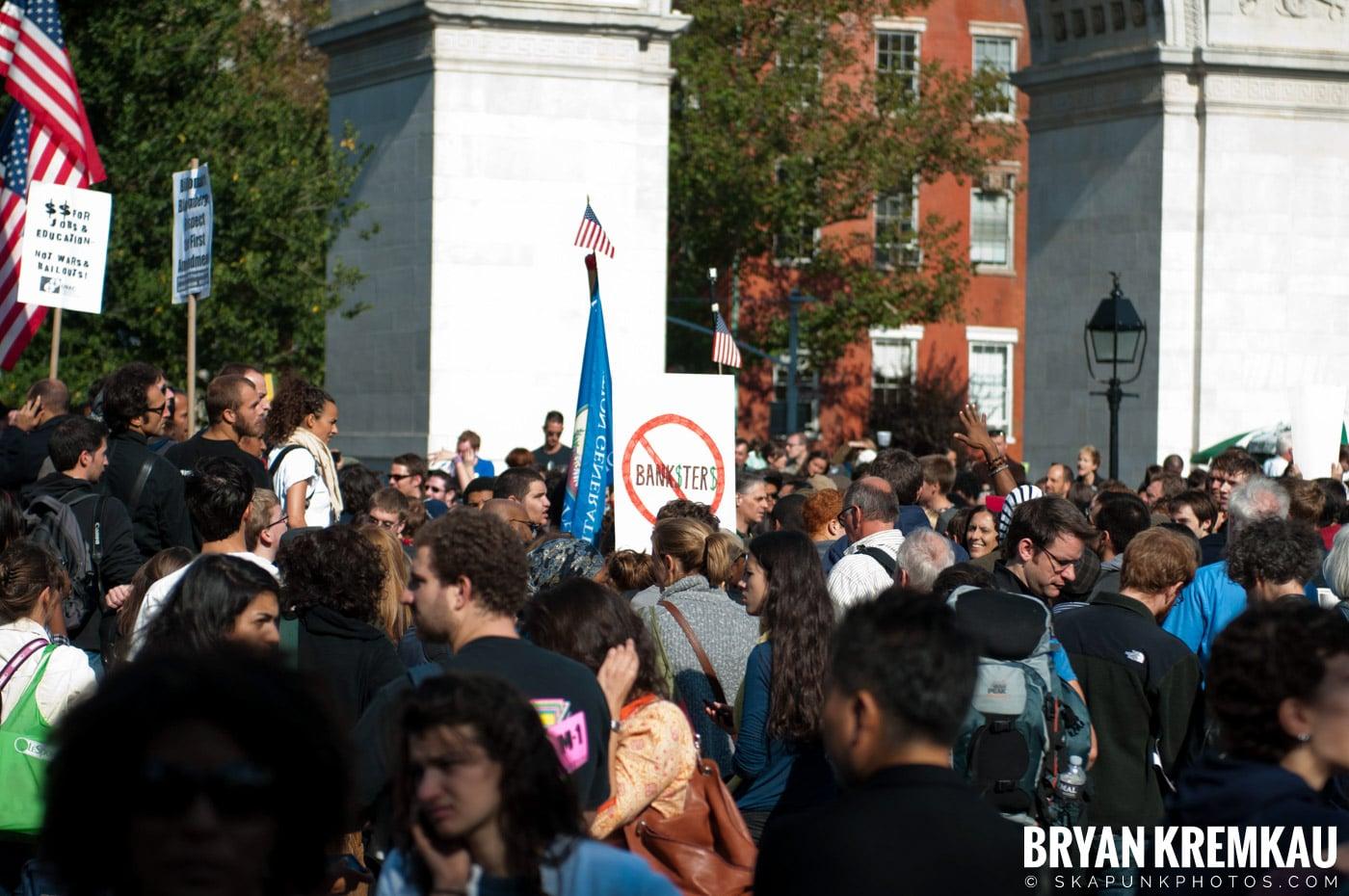 Occupy Wall Street @ Zuccotti Park and Washington Square Park, NYC - 10.15.11 (23)