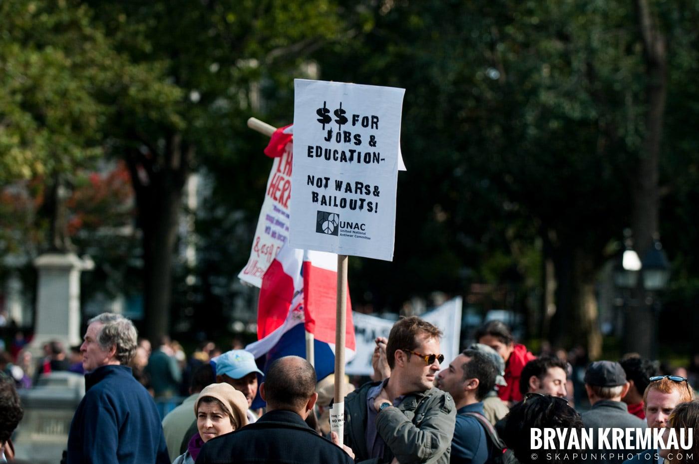 Occupy Wall Street @ Zuccotti Park and Washington Square Park, NYC - 10.15.11 (20)
