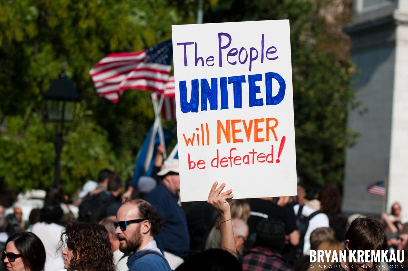 Occupy Wall Street @ Zuccotti Park and Washington Square Park, NYC - 10.15.11 (17)