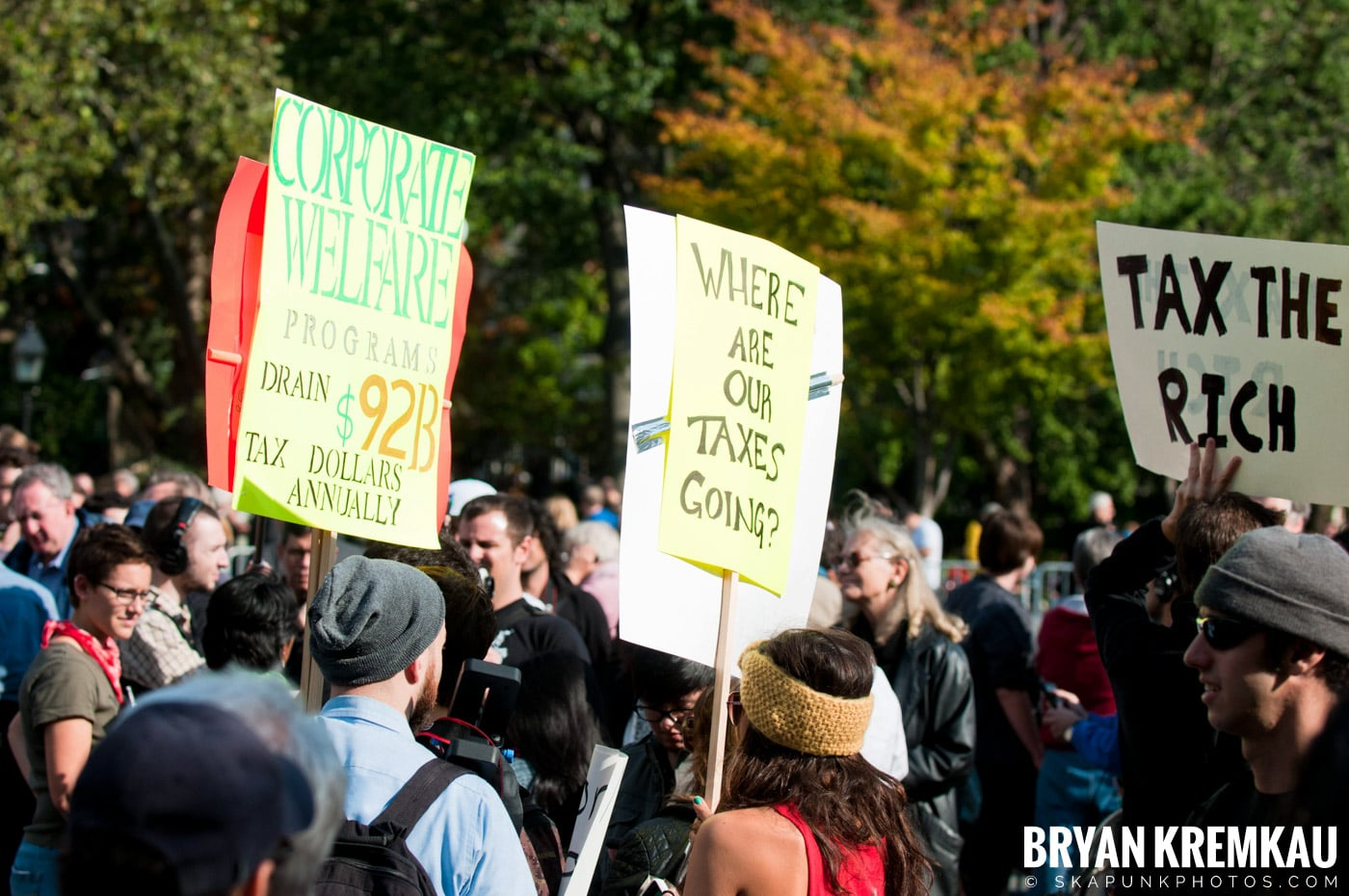 Occupy Wall Street @ Zuccotti Park and Washington Square Park, NYC - 10.15.11 (16)