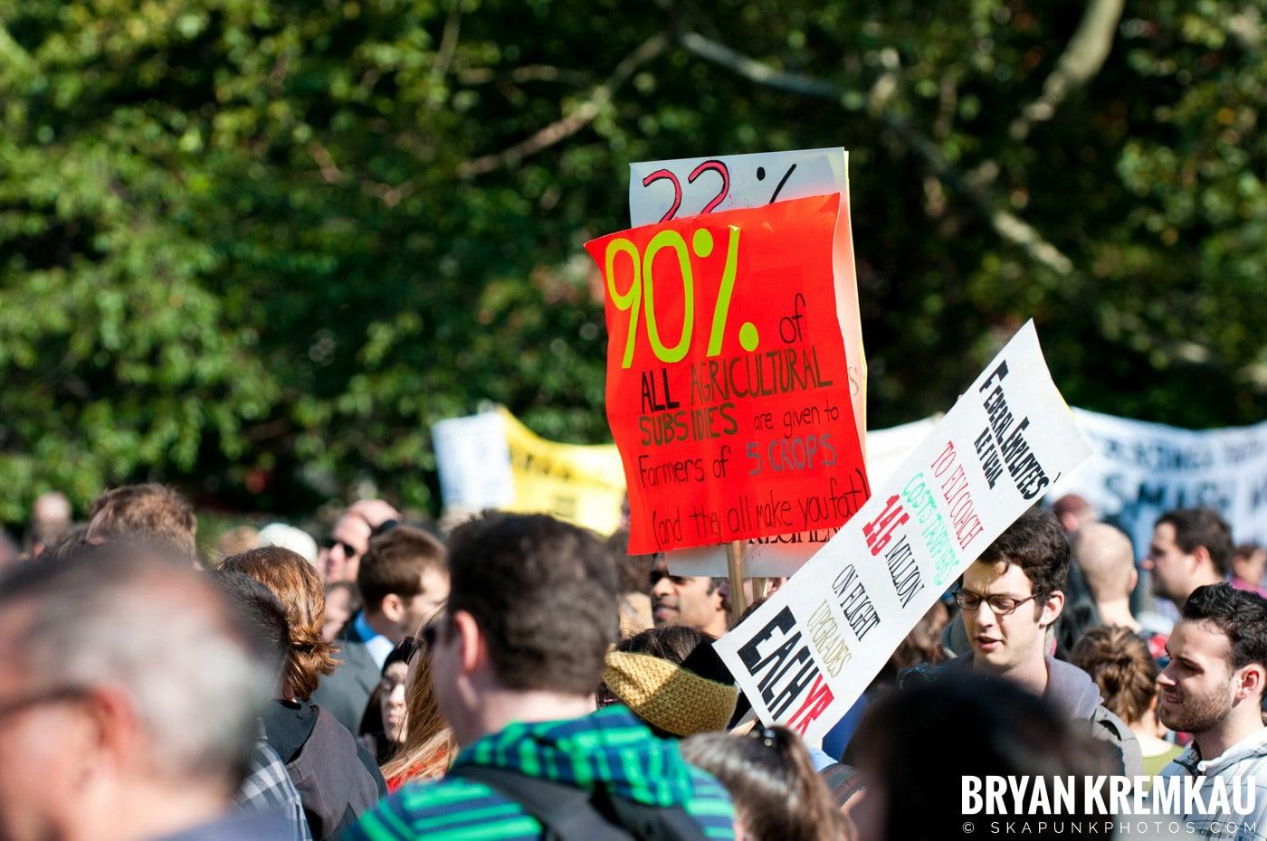 Occupy Wall Street @ Zuccotti Park and Washington Square Park, NYC - 10.15.11 (14)
