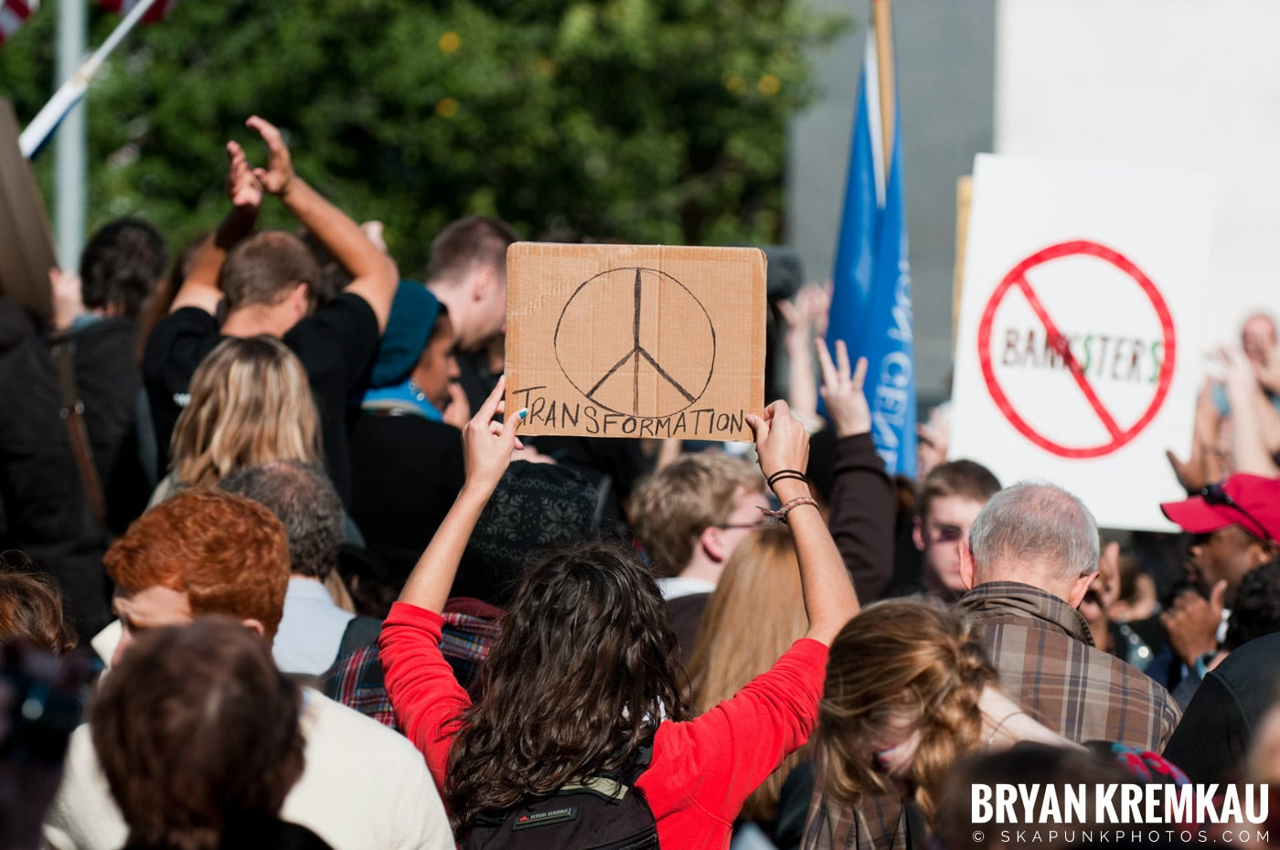 Occupy Wall Street @ Zuccotti Park and Washington Square Park, NYC - 10.15.11 (13)
