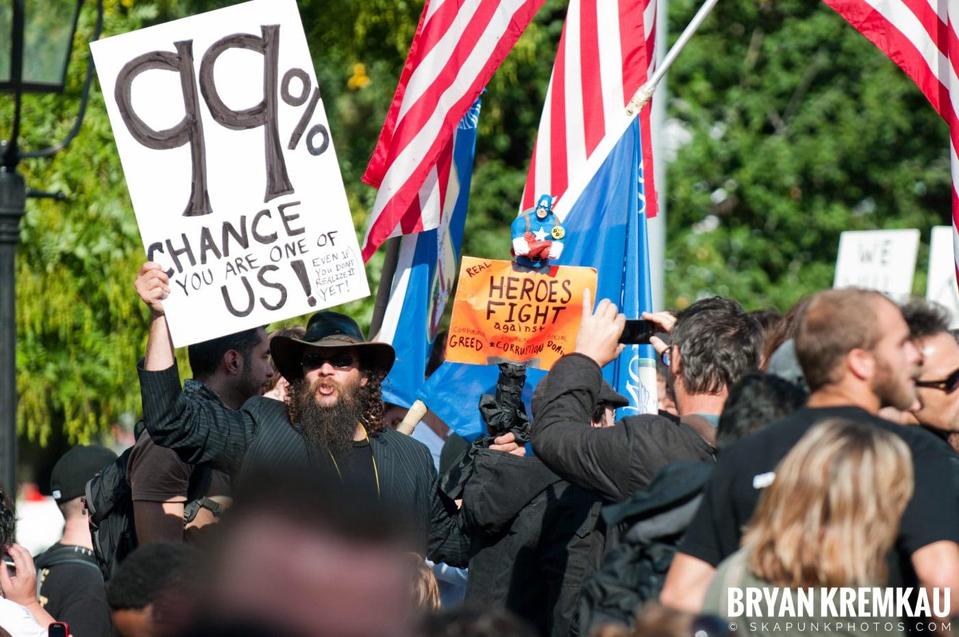 Occupy Wall Street @ Zuccotti Park and Washington Square Park, NYC - 10.15.11 (11)