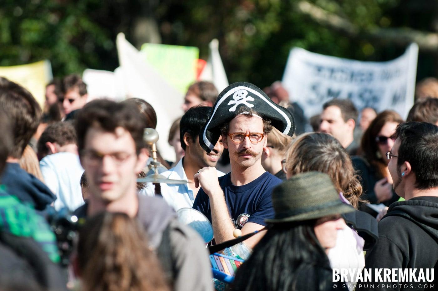 Occupy Wall Street @ Zuccotti Park and Washington Square Park, NYC - 10.15.11 (10)