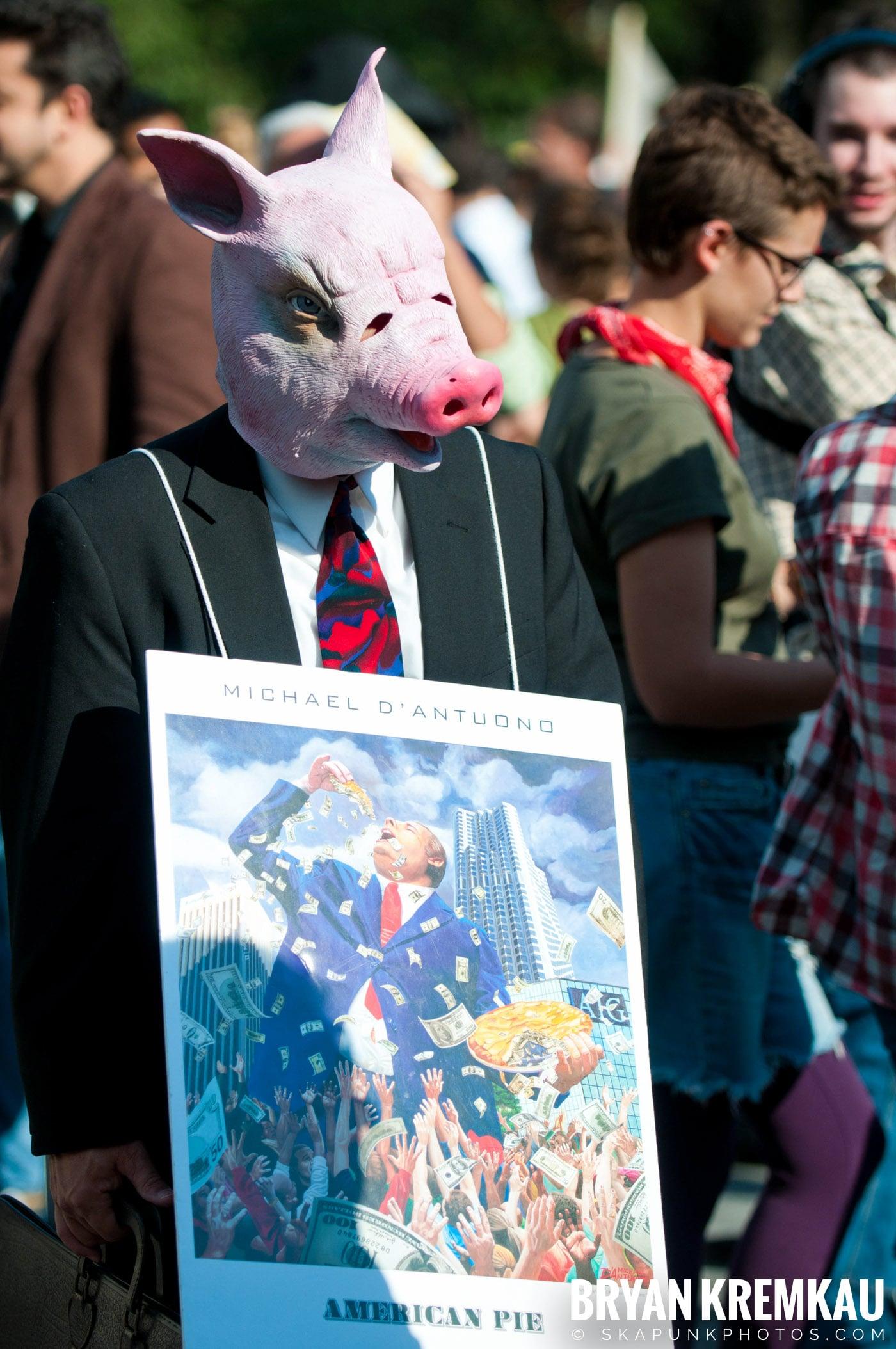 Occupy Wall Street @ Zuccotti Park and Washington Square Park, NYC - 10.15.11 (8)