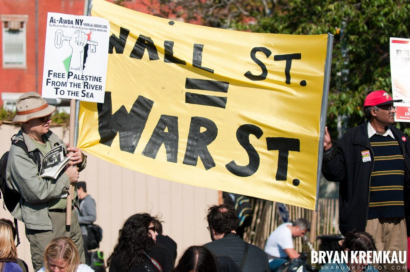 Occupy Wall Street @ Zuccotti Park and Washington Square Park, NYC - 10.15.11 (7)