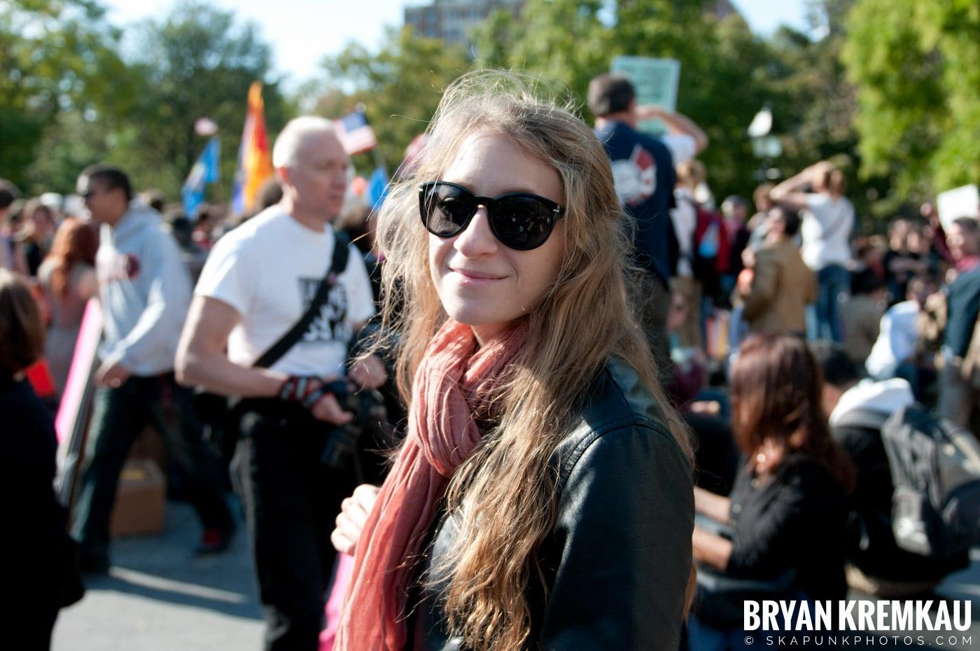 Occupy Wall Street @ Zuccotti Park and Washington Square Park, NYC - 10.15.11 (5)