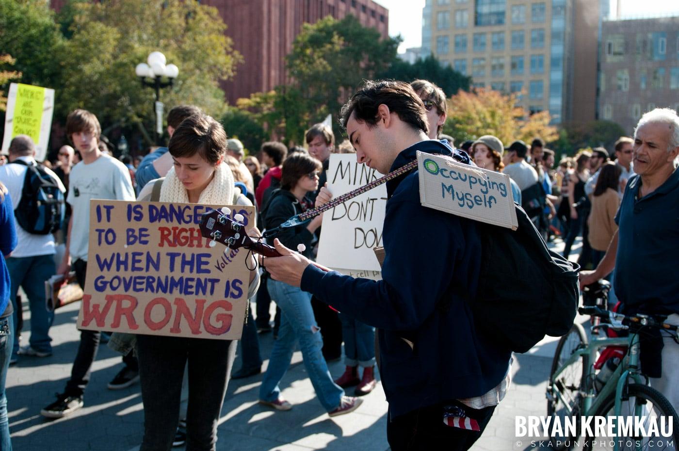 Occupy Wall Street @ Zuccotti Park and Washington Square Park, NYC - 10.15.11 (4)