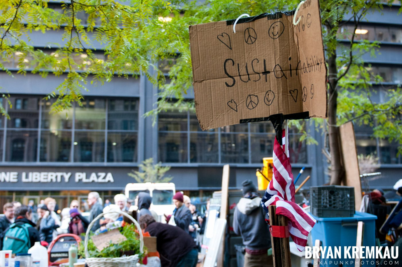 Occupy Wall Street @ Zuccotti Park and Foley Square, NYC - 11.5.11 (125)