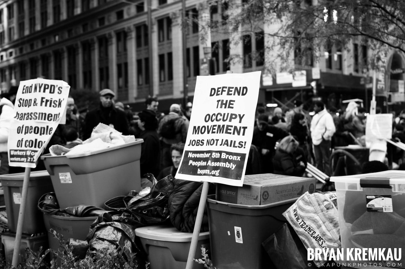 Occupy Wall Street @ Zuccotti Park and Foley Square, NYC - 11.5.11 (114)