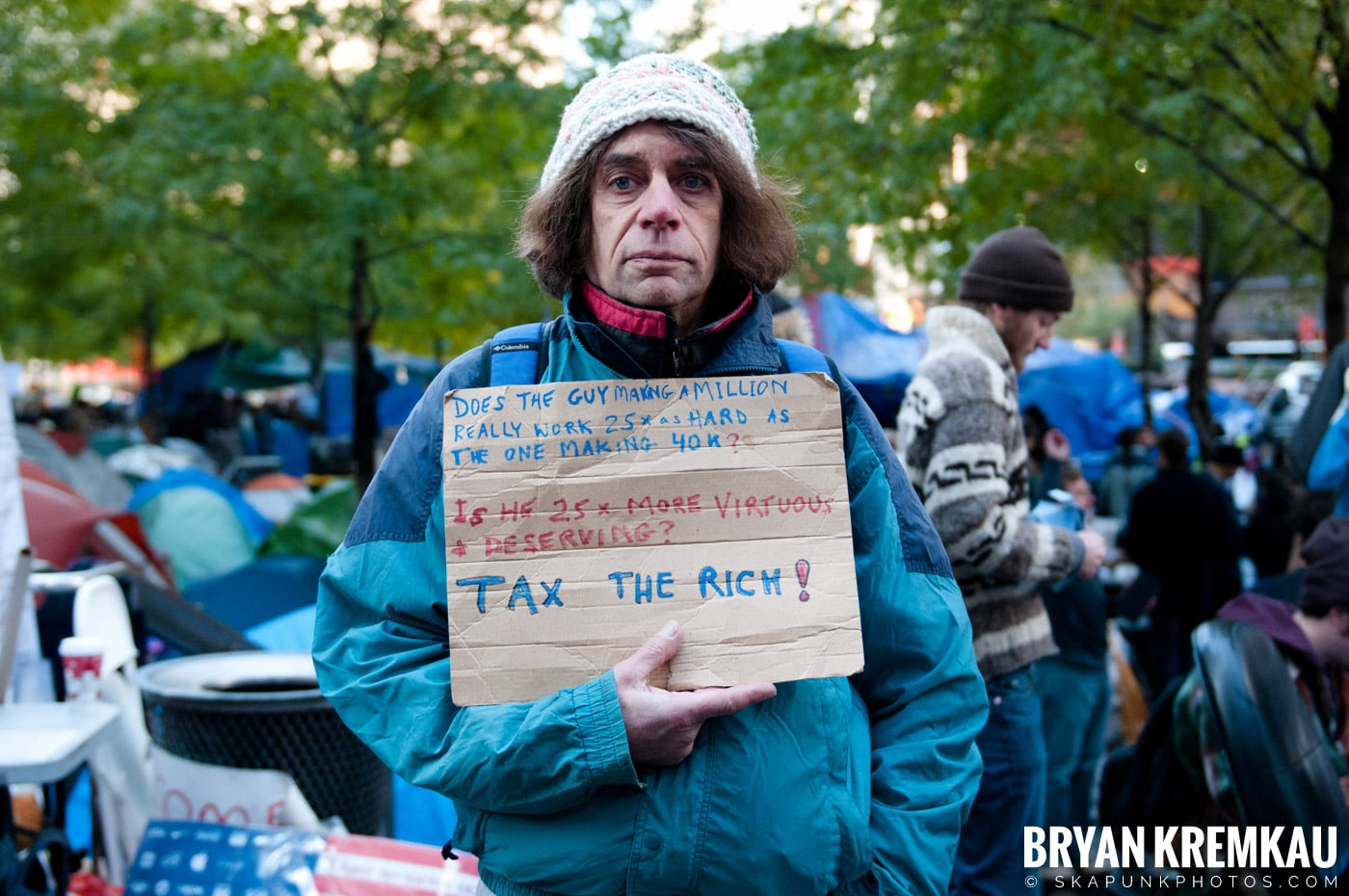 Occupy Wall Street @ Zuccotti Park and Foley Square, NYC - 11.5.11 (98)