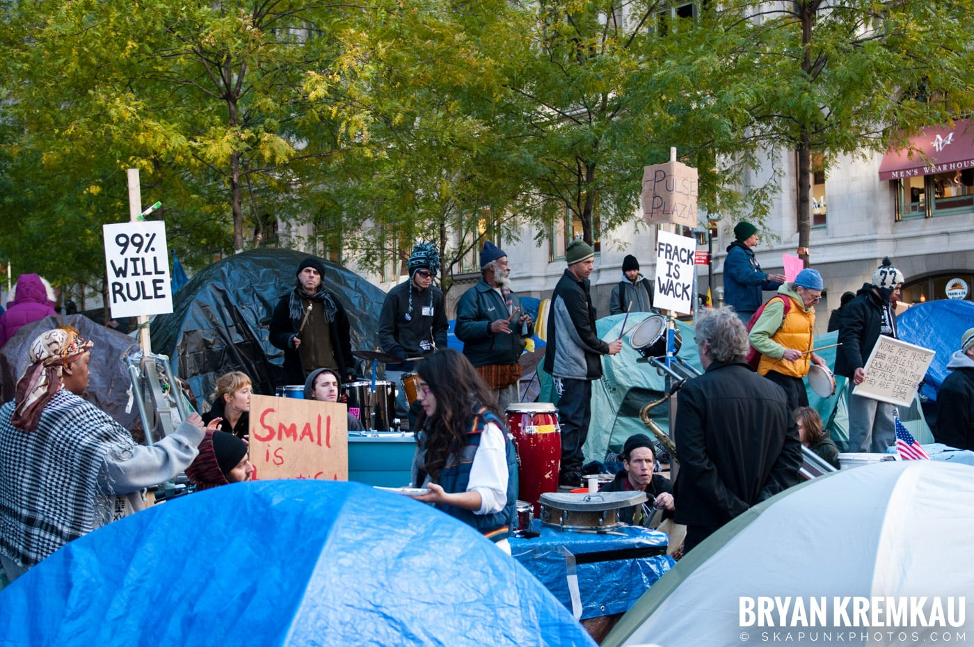 Occupy Wall Street @ Zuccotti Park and Foley Square, NYC - 11.5.11 (88)