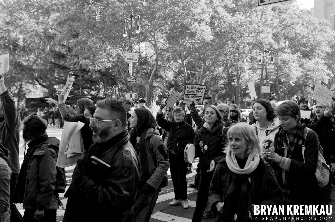 Occupy Wall Street @ Zuccotti Park and Foley Square, NYC - 11.5.11 (31)