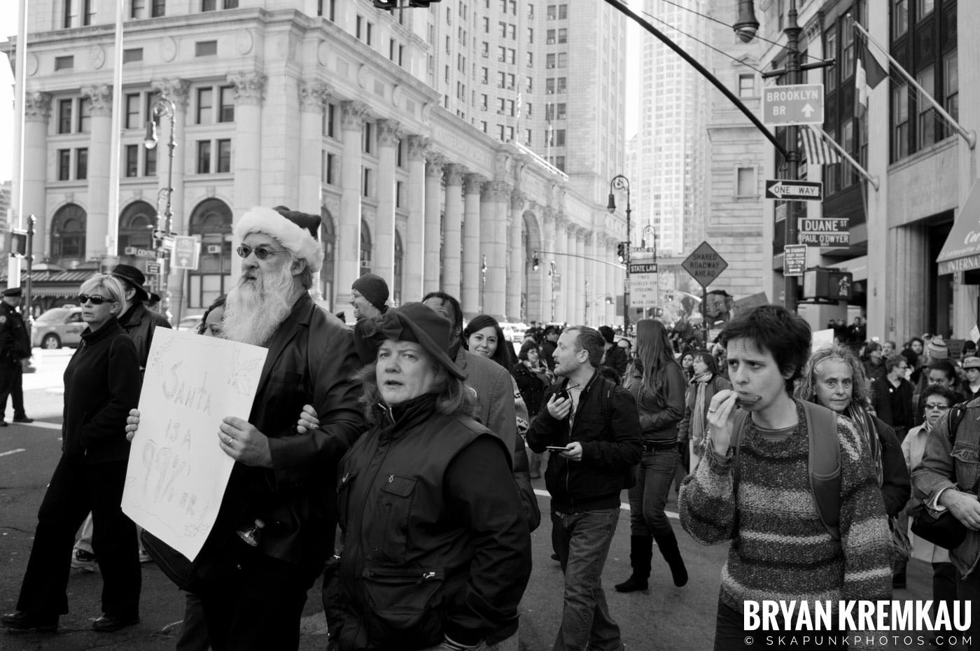 Occupy Wall Street @ Zuccotti Park and Foley Square, NYC - 11.5.11 (25)