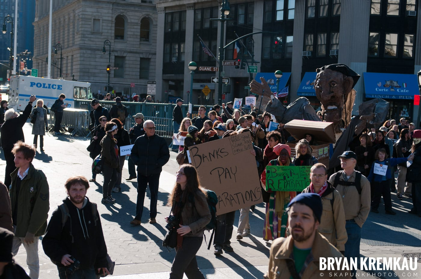 Occupy Wall Street @ Zuccotti Park and Foley Square, NYC - 11.5.11 (18)