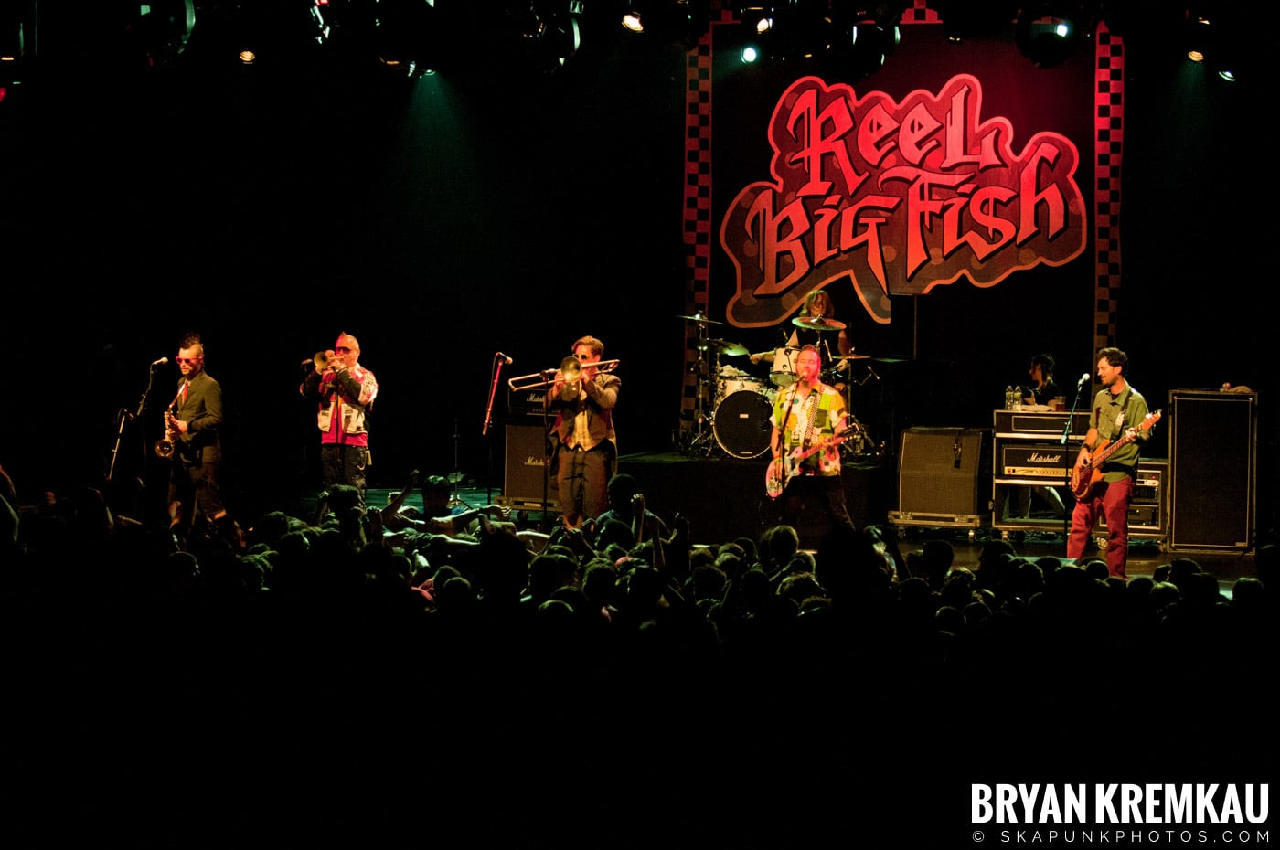 Reel Big Fish @ Best Buy Theater, NYC - 6.27.12 (7)
