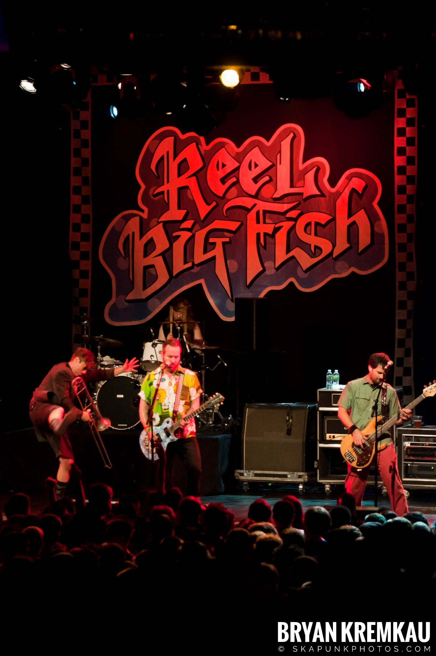 Reel Big Fish @ Best Buy Theater, NYC - 6.27.12 (3)