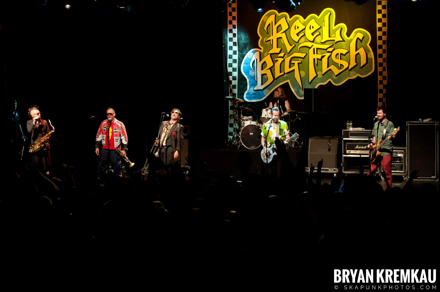 Reel Big Fish @ Best Buy Theater, NYC - 6.27.12 (2)
