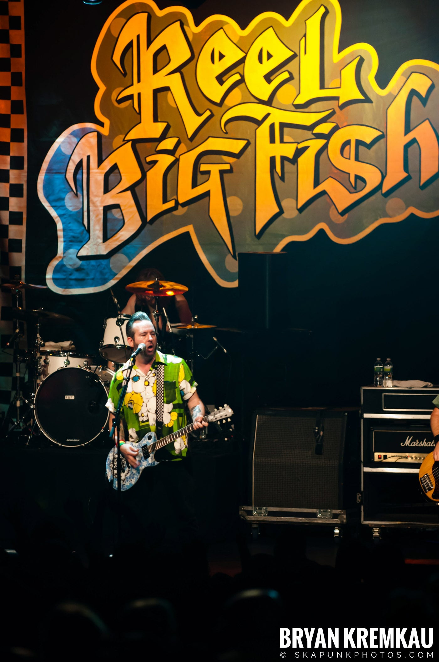 Reel Big Fish @ Best Buy Theater, NYC - 6.27.12 (1)