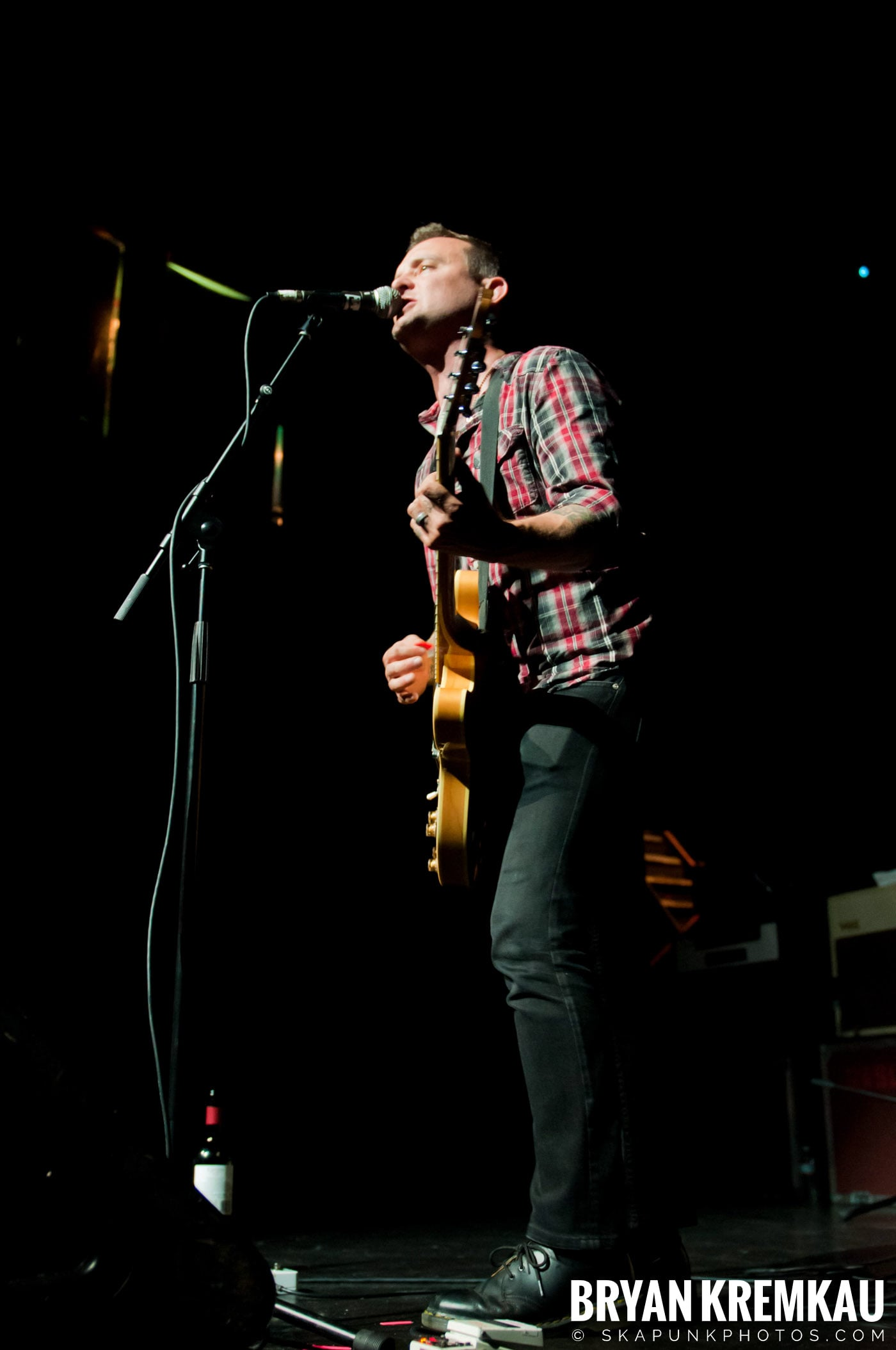 Dave Hause @ Webster Hall, NYC - 7.24.12 (18)