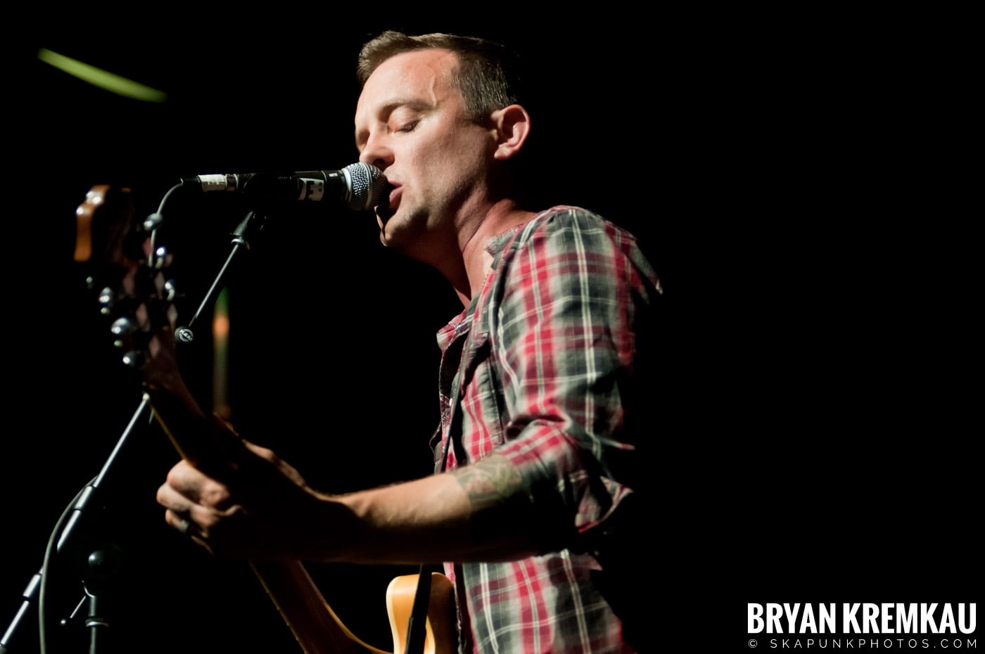 Dave Hause @ Webster Hall, NYC - 7.24.12 (17)