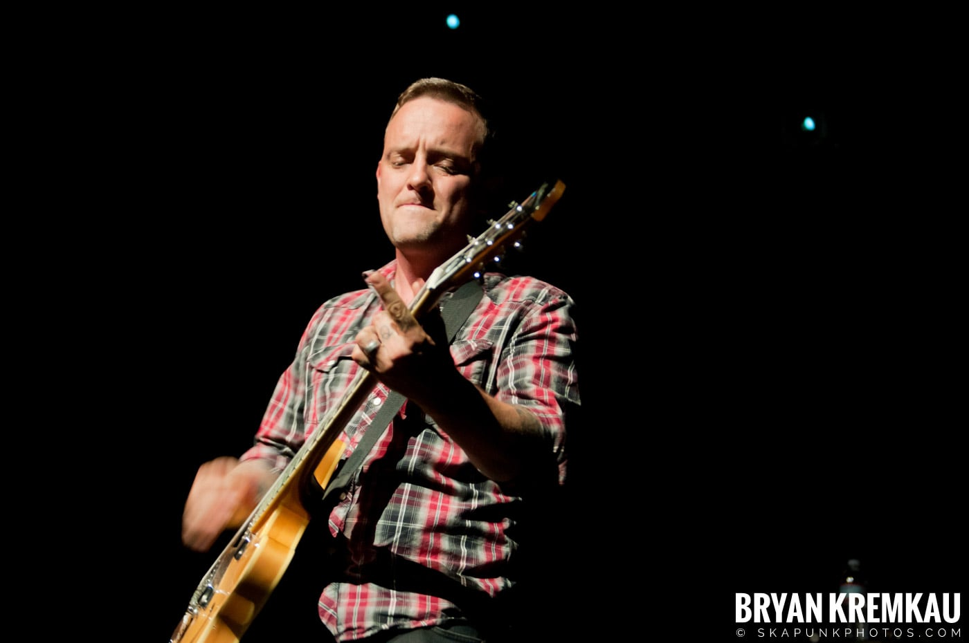 Dave Hause @ Webster Hall, NYC - 7.24.12 (16)