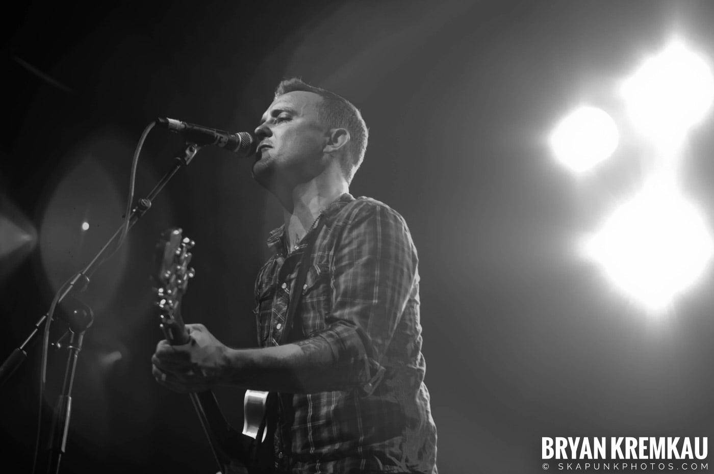 Dave Hause @ Webster Hall, NYC - 7.24.12 (15)