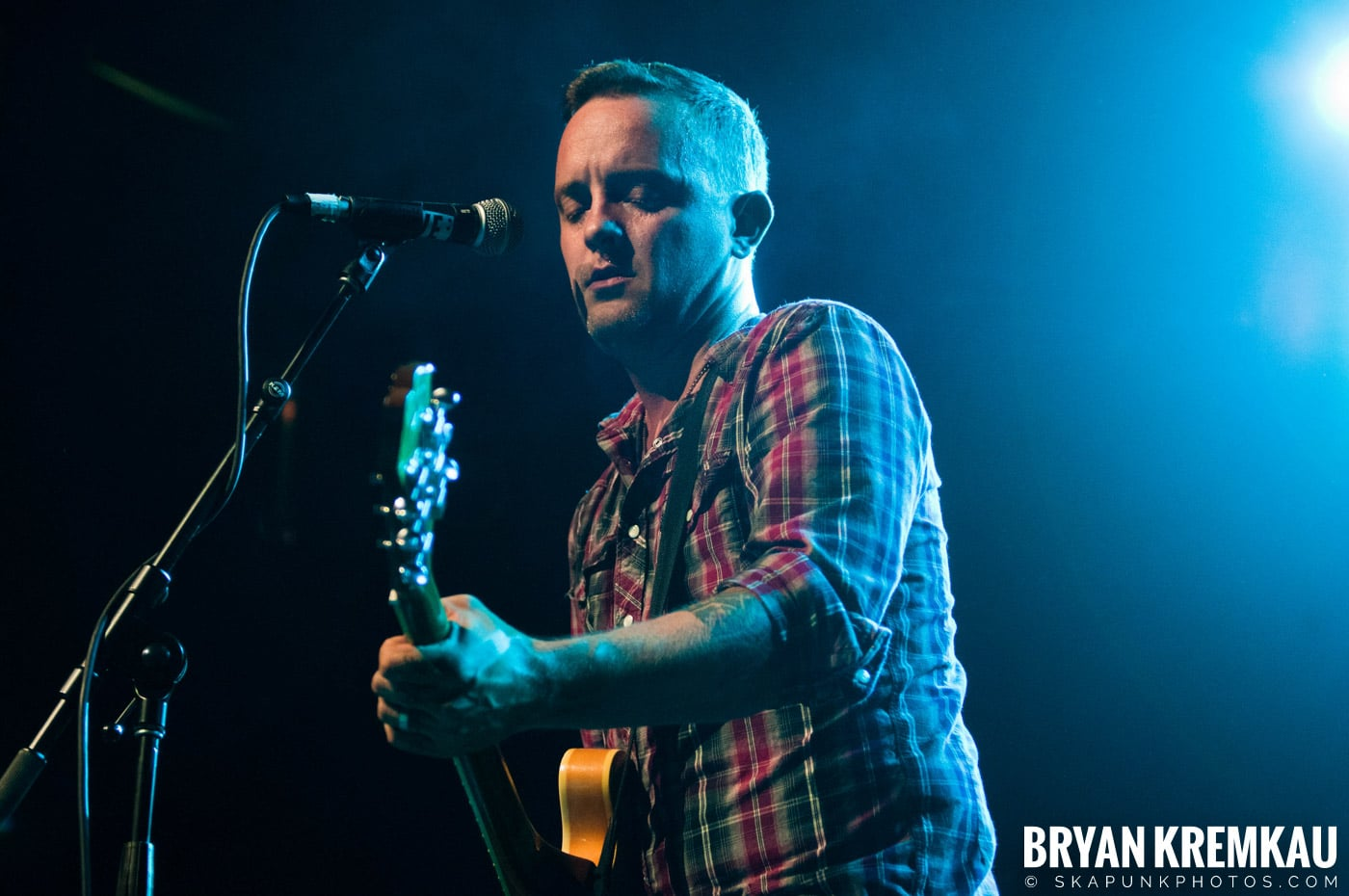 Dave Hause @ Webster Hall, NYC - 7.24.12 (13)
