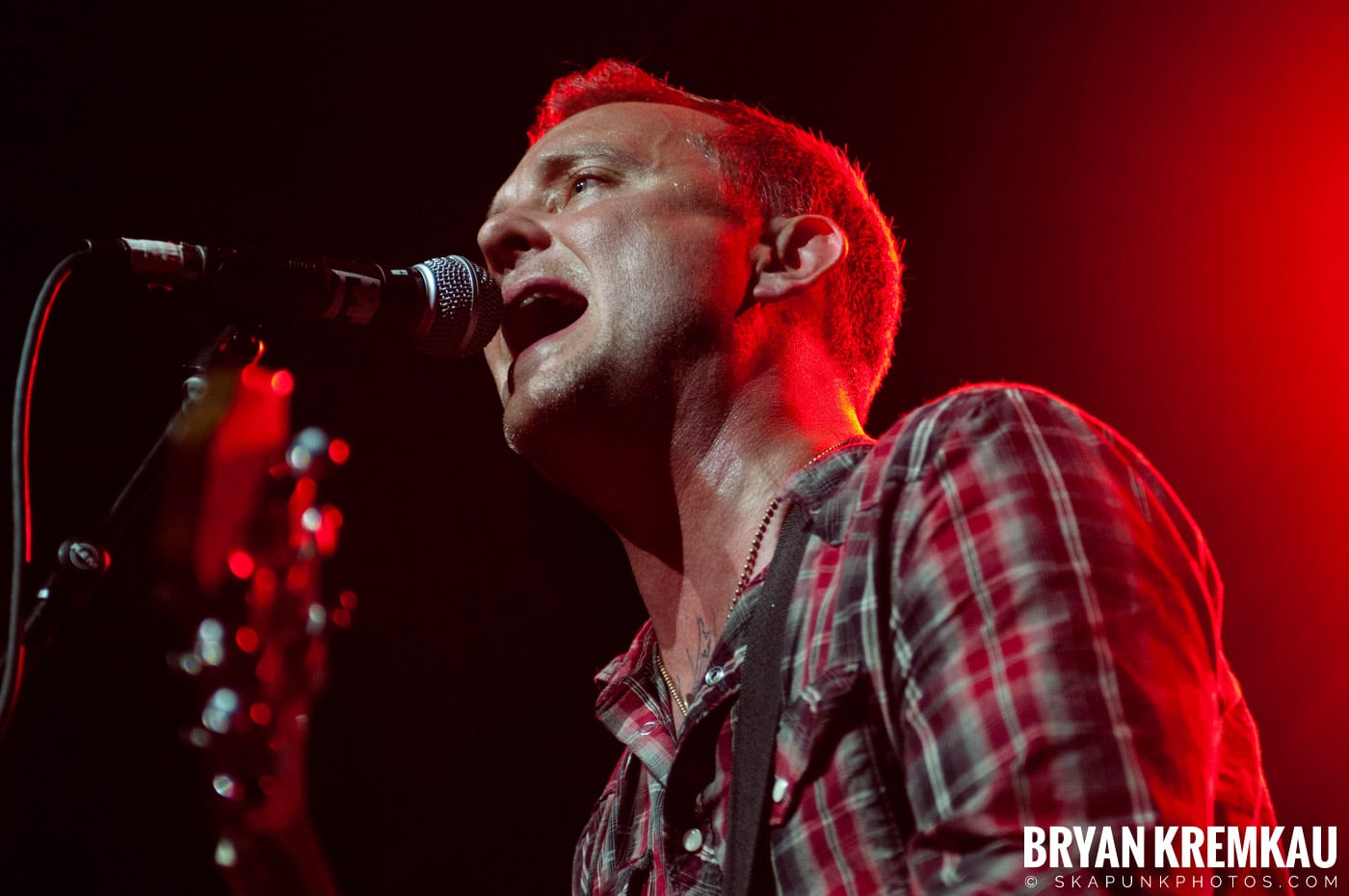 Dave Hause @ Webster Hall, NYC - 7.24.12 (11)