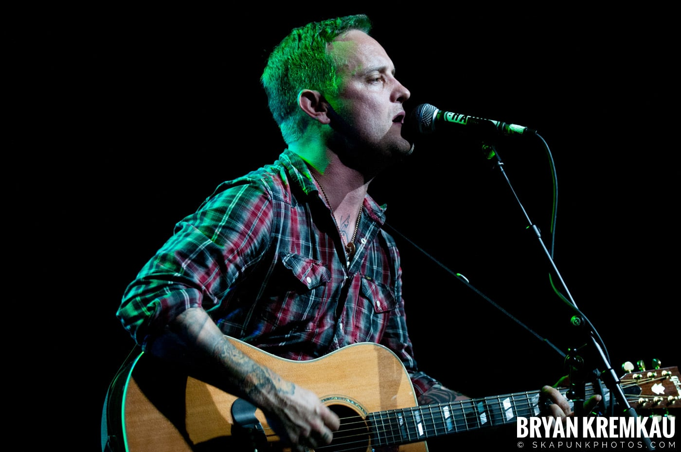 Dave Hause @ Webster Hall, NYC - 7.24.12 (6)