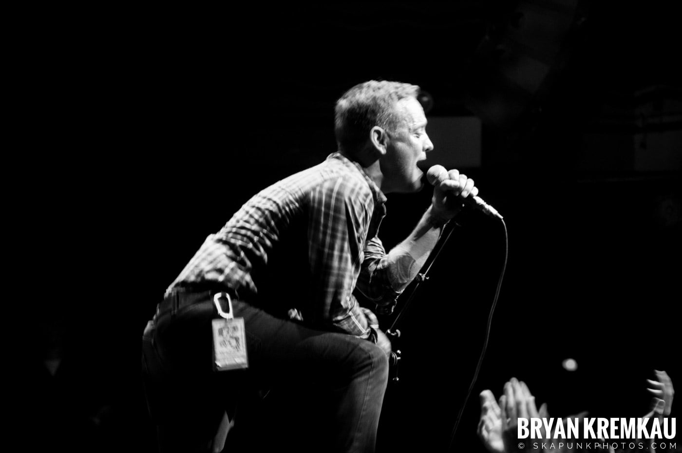 Dave Hause @ Webster Hall, NYC - 7.24.12 (1)