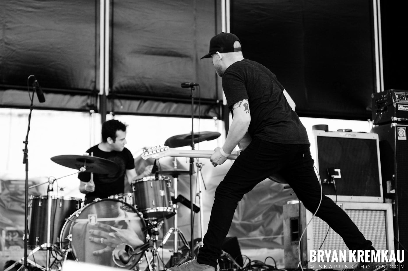 The Menzingers @ Riot Fest 2012, Williamsburg Park NY - 9.8.12 (16)