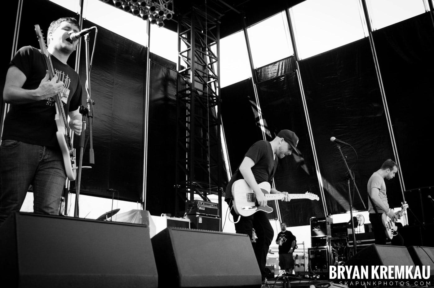 The Menzingers @ Riot Fest 2012, Williamsburg Park NY - 9.8.12 (12)