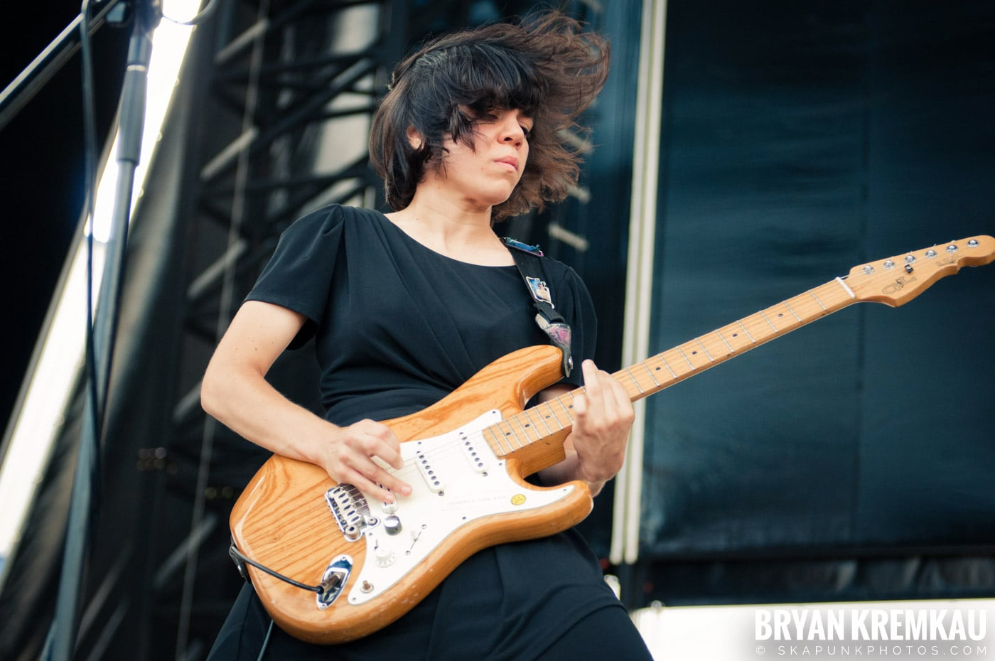 The Screaming Females @ Riot Fest 2012, Williamsburg Park NY - 9.8.12 (9)