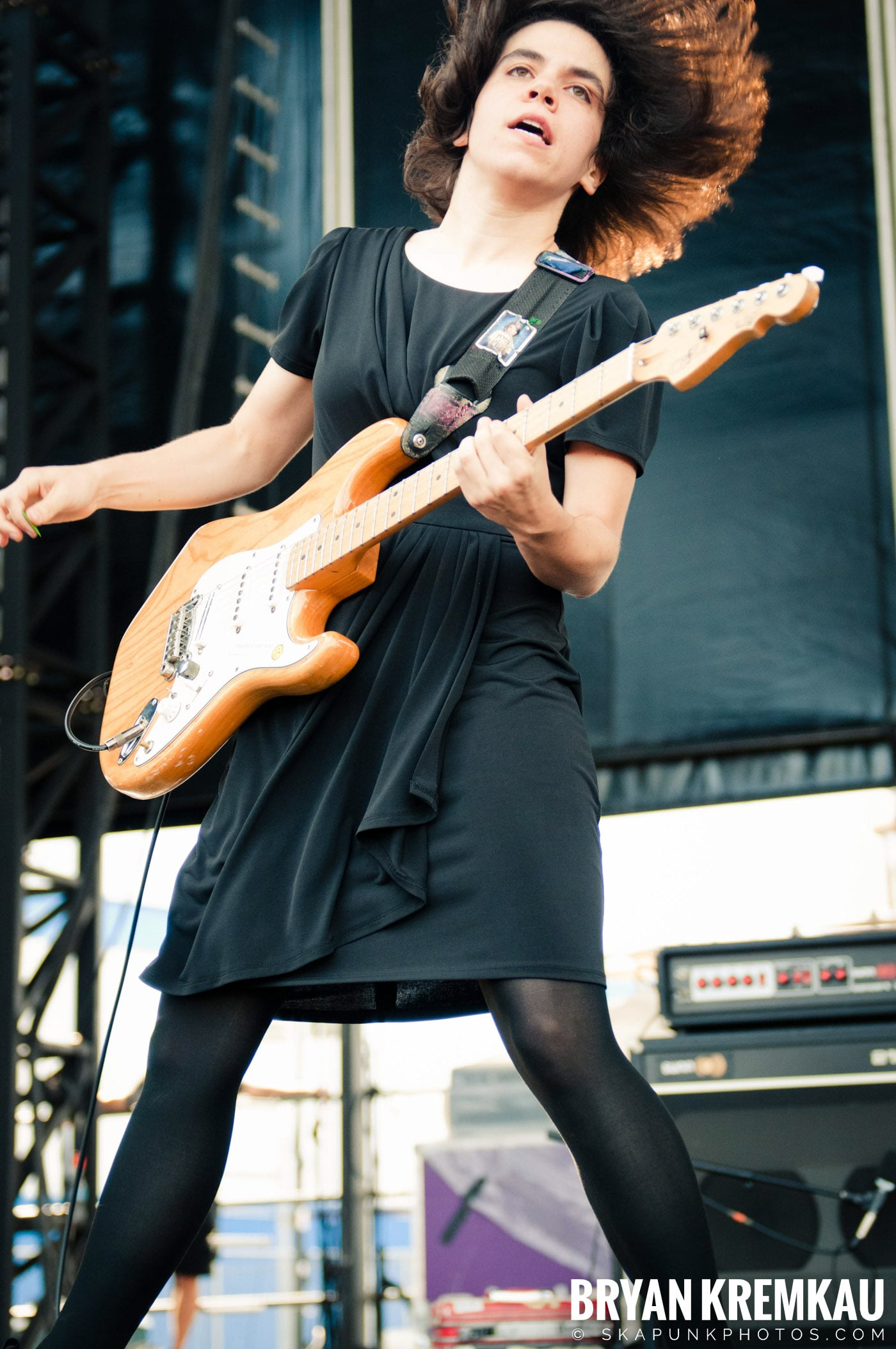 The Screaming Females @ Riot Fest 2012, Williamsburg Park NY - 9.8.12 (4)