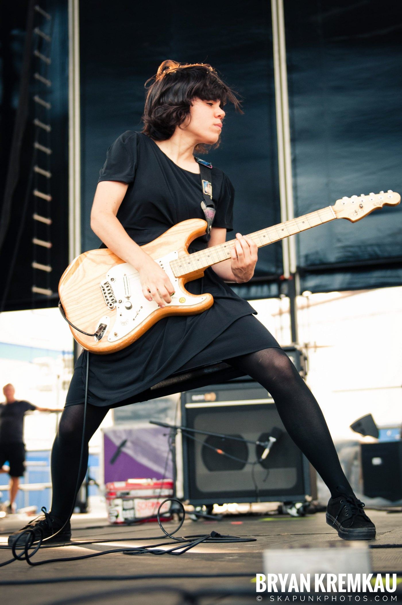 The Screaming Females @ Riot Fest 2012, Williamsburg Park NY - 9.8.12 (2)