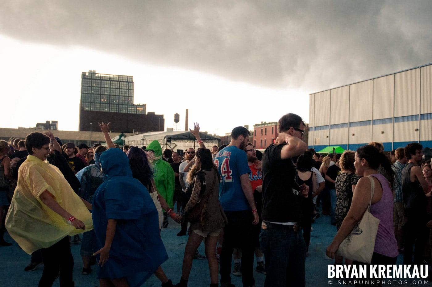 The Bronx @ Riot Fest 2012, Williamsburg Park NY - 9.8.12 (3)