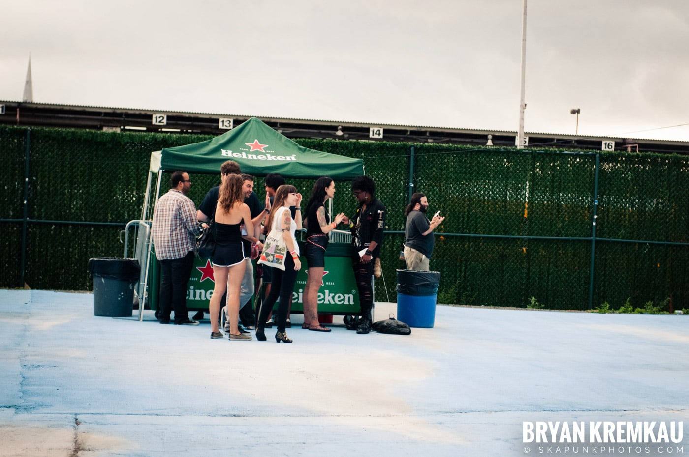 The Bronx @ Riot Fest 2012, Williamsburg Park NY - 9.8.12 (1)