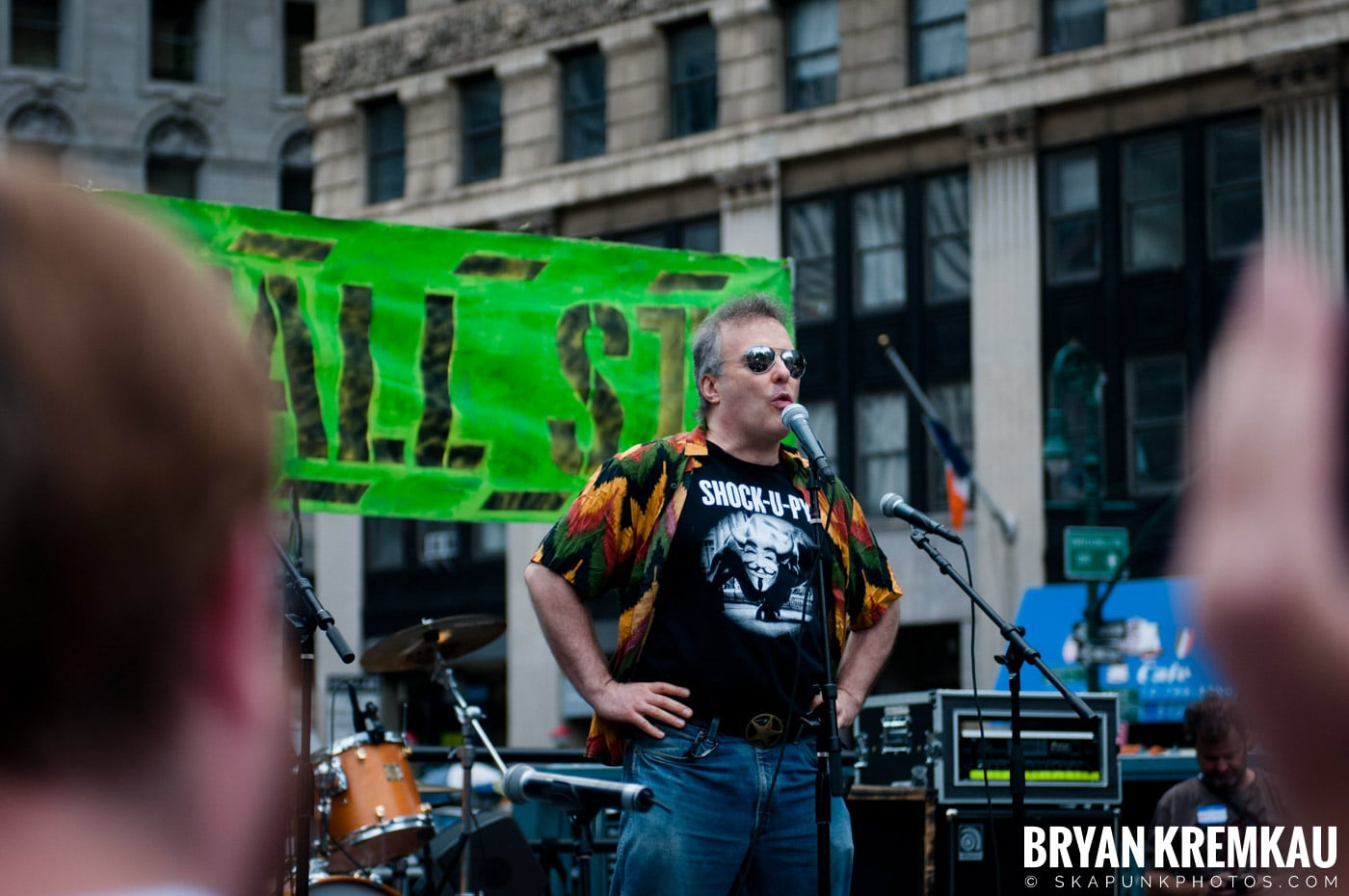Occupy Wall Street Anniversary Concert @ Foley Square, NYC - 9.16.12 (91)