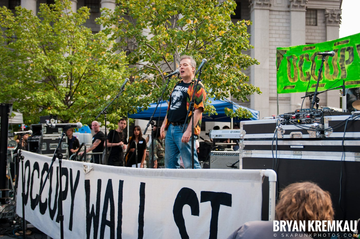 Occupy Wall Street Anniversary Concert @ Foley Square, NYC - 9.16.12 (43)