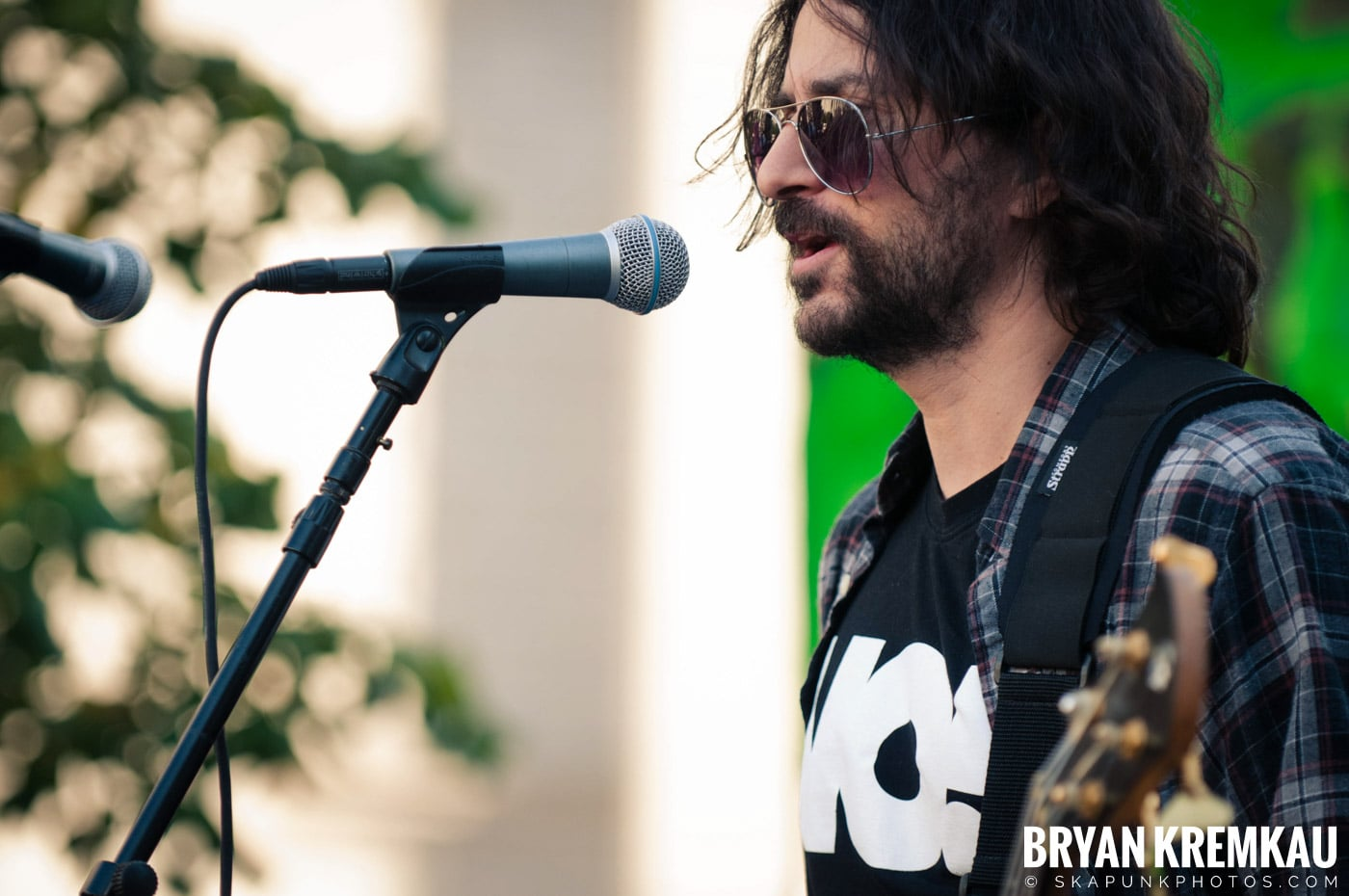 Tom Morello @ Occupy Wall Street Anniversary Concert, Foley Square, NYC - 9.16.12 (49)