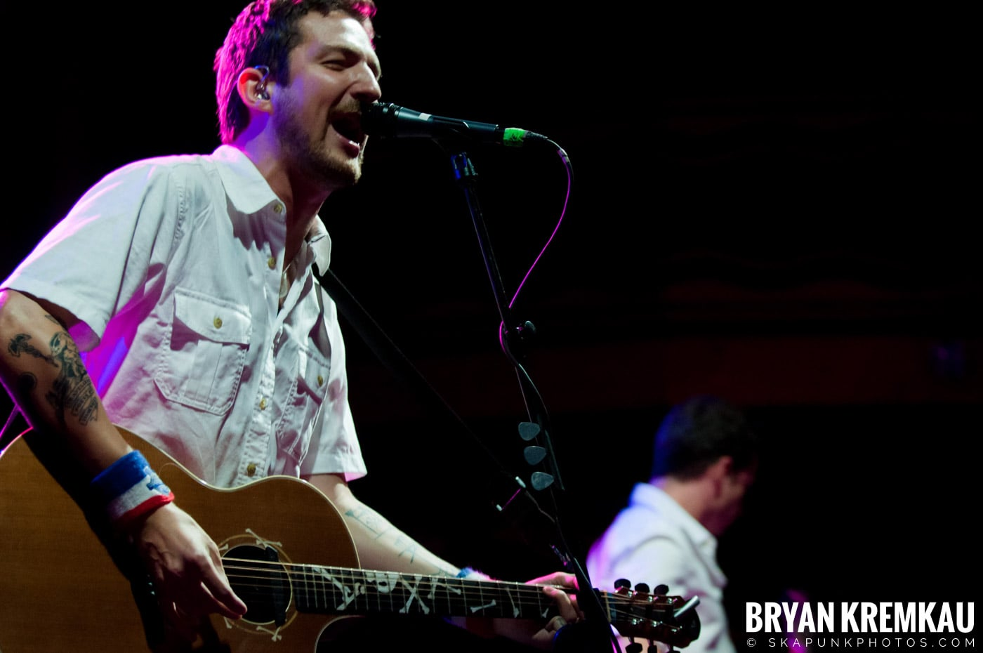 Frank Turner & The Sleeping Souls @ Webster Hall, NYC - 9.29.12 (34)