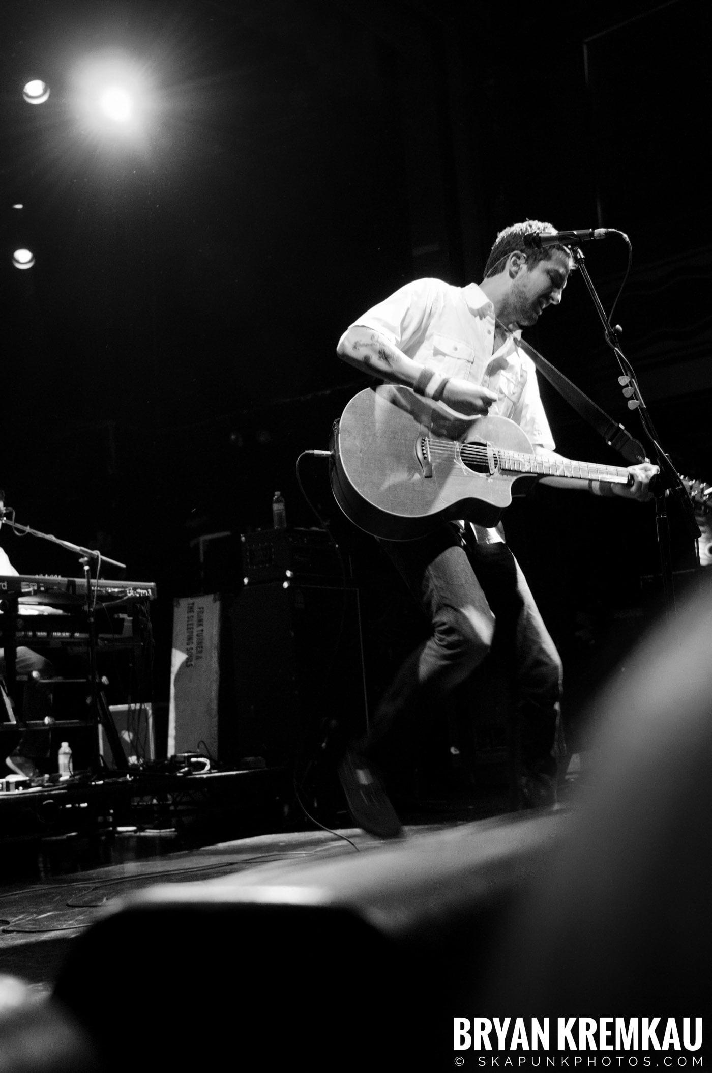 Frank Turner & The Sleeping Souls @ Webster Hall, NYC - 9.29.12 (23)