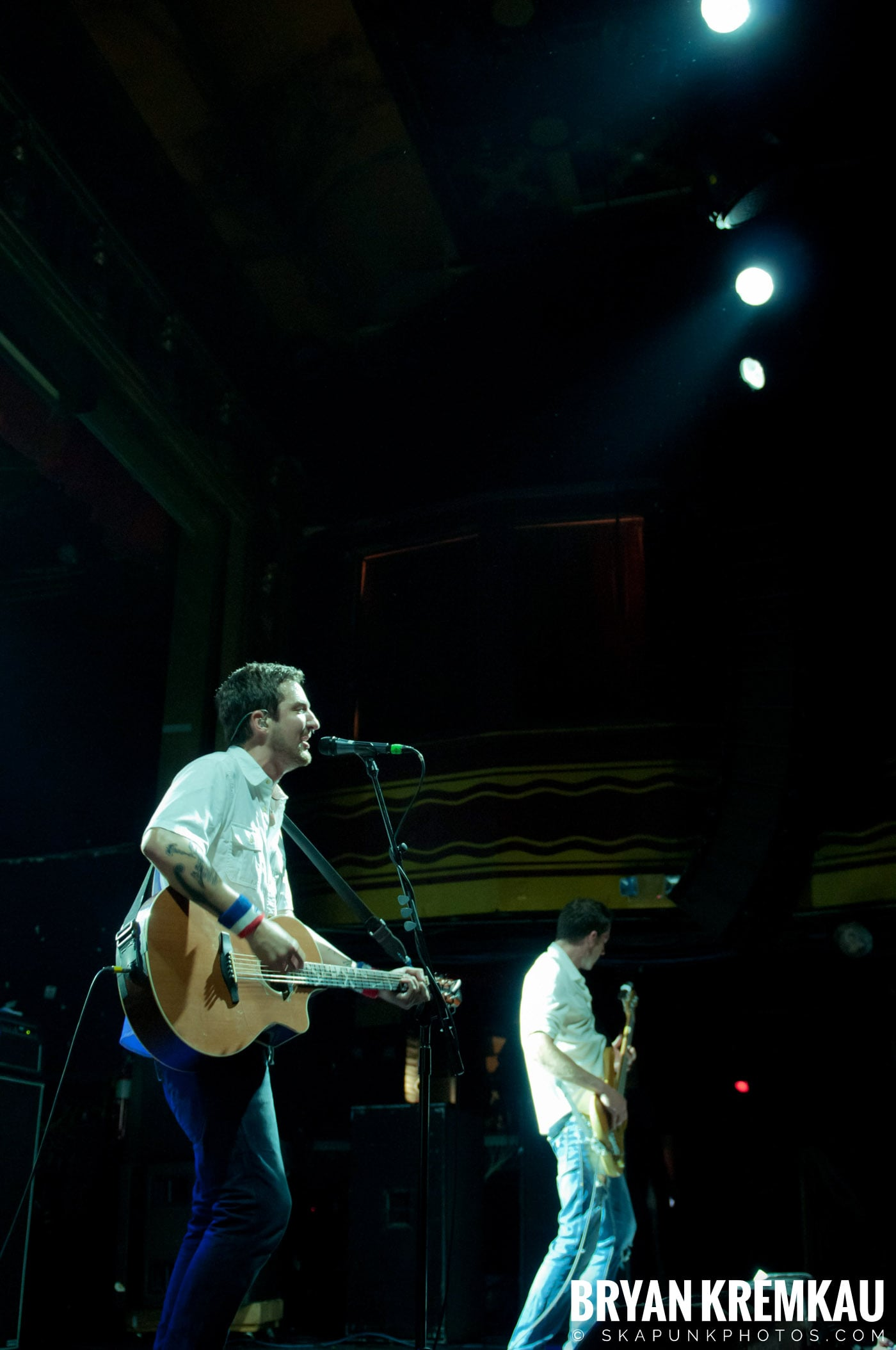 Frank Turner & The Sleeping Souls @ Webster Hall, NYC - 9.29.12 (21)