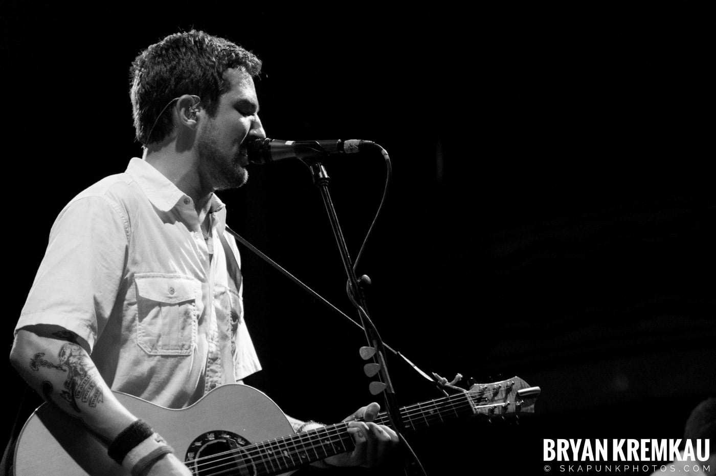 Frank Turner & The Sleeping Souls @ Webster Hall, NYC - 9.29.12 (12)