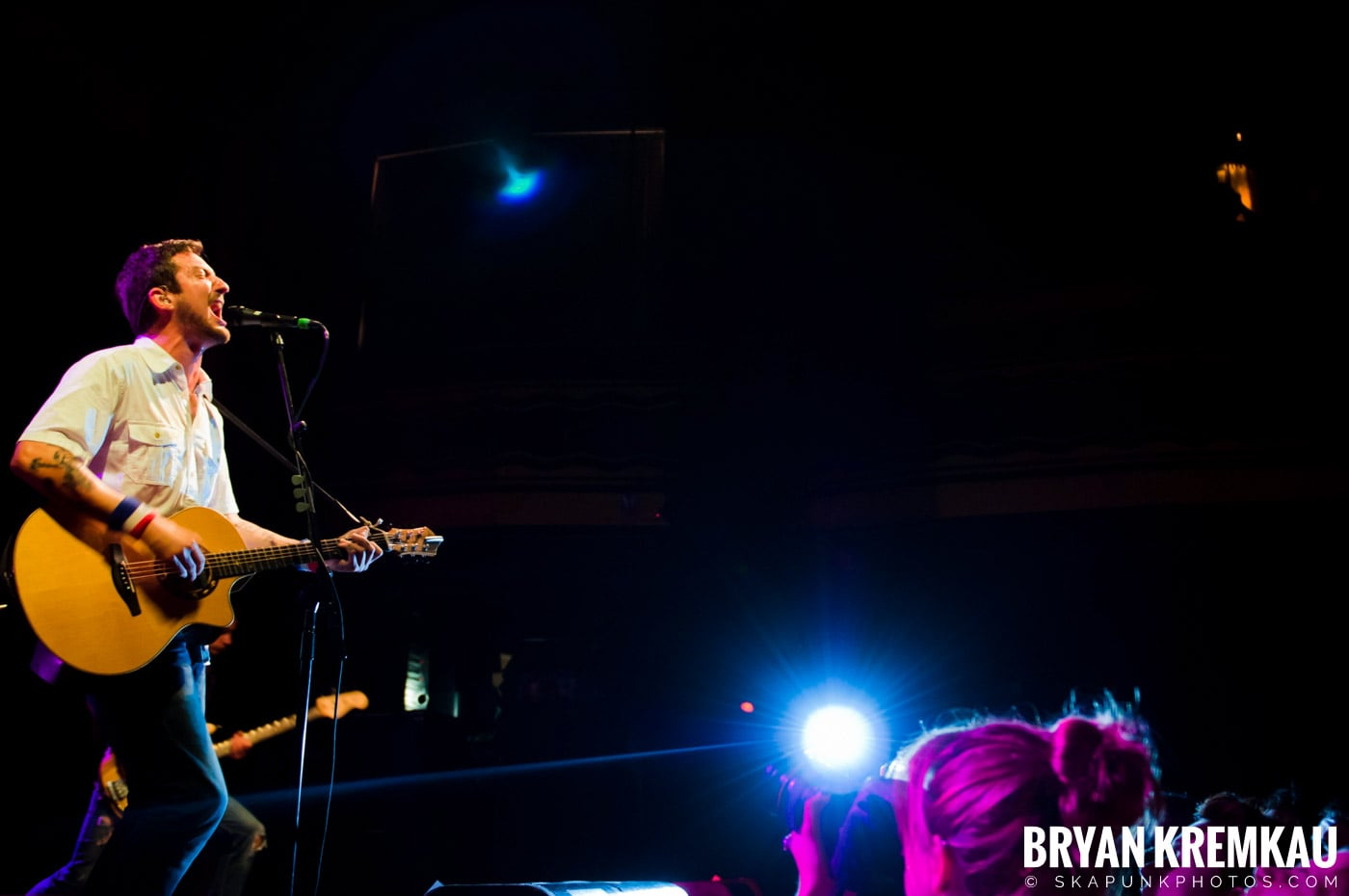 Frank Turner & The Sleeping Souls @ Webster Hall, NYC - 9.29.12 (10)
