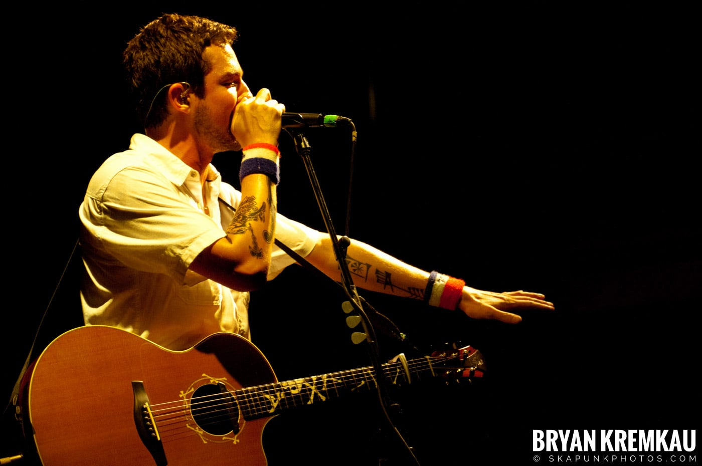 Frank Turner & The Sleeping Souls @ Webster Hall, NYC - 9.29.12 (6)