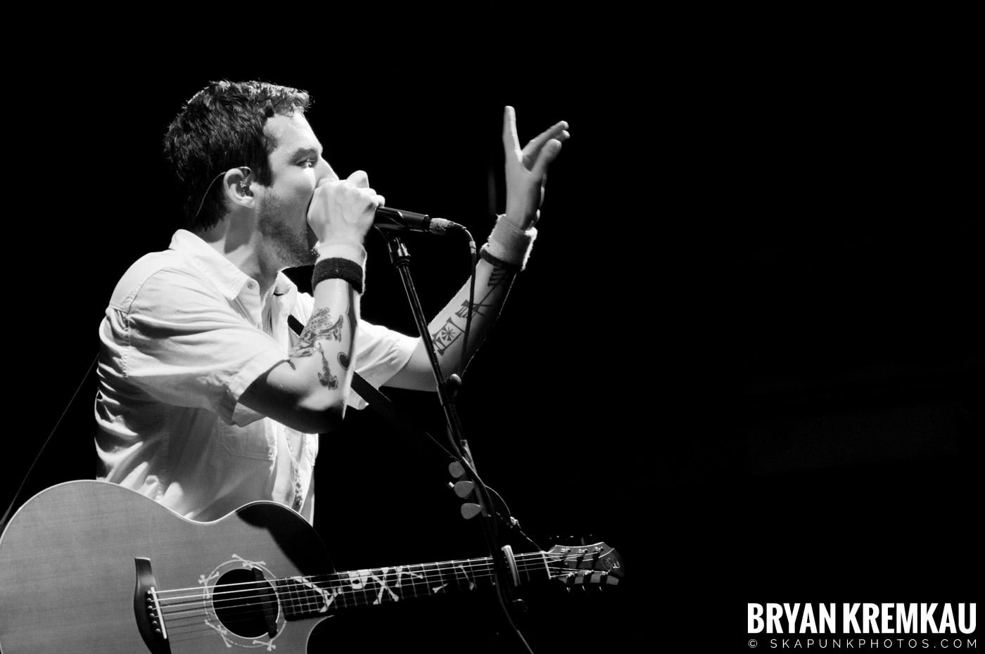Frank Turner & The Sleeping Souls @ Webster Hall, NYC - 9.29.12 (5)