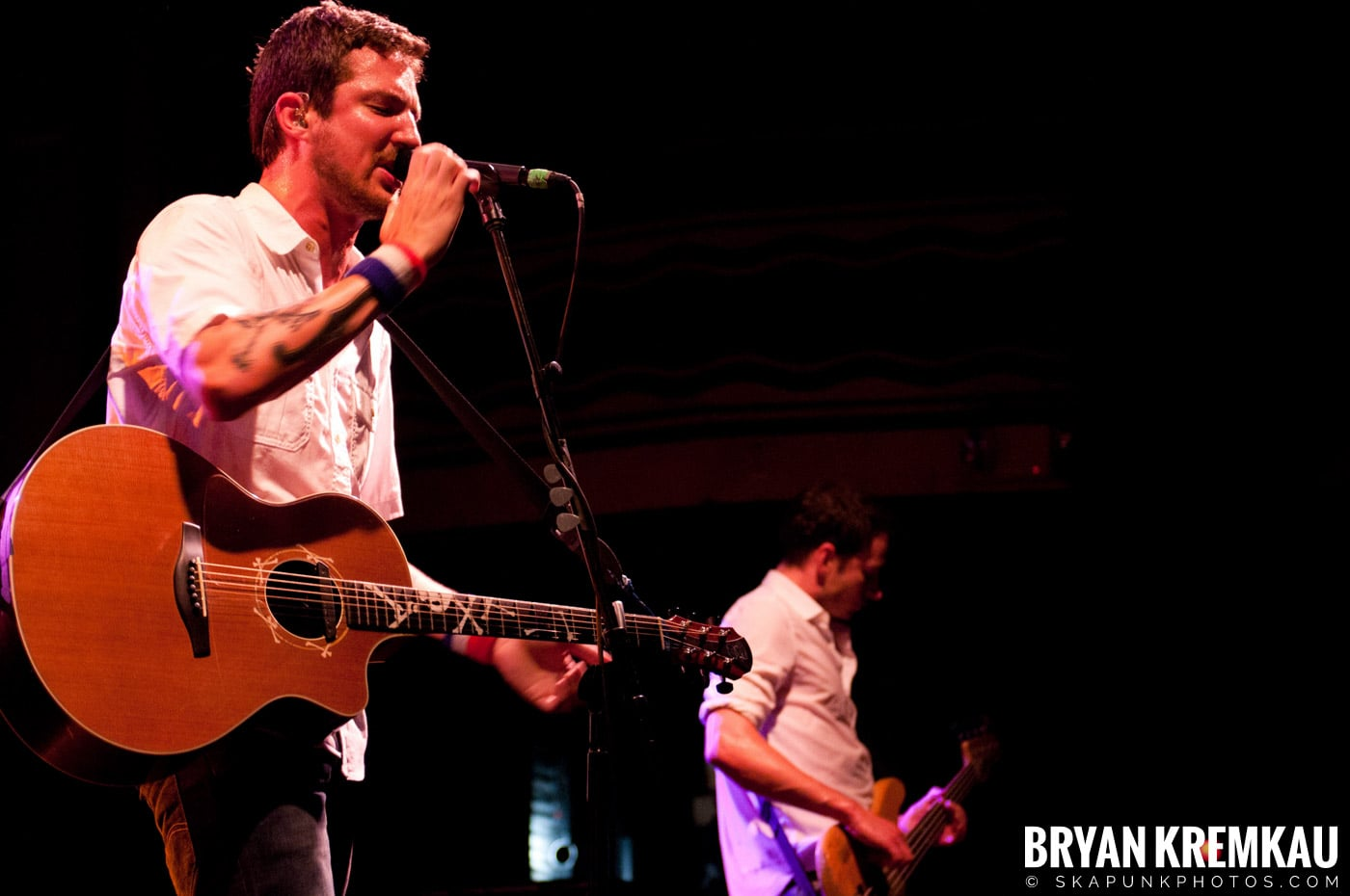 Frank Turner & The Sleeping Souls @ Webster Hall, NYC - 9.29.12 (3)